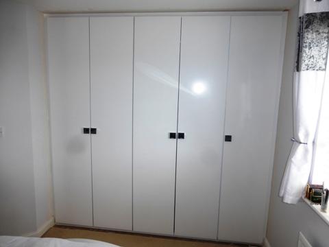 designer gloss  wardrobe