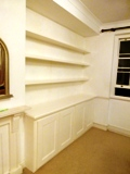 Maldon  fitted made to measure floating shelves