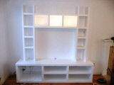 white floating shelves in Chelmsford